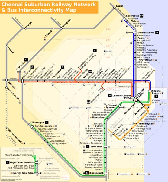 chennai-suburban-railway-network
